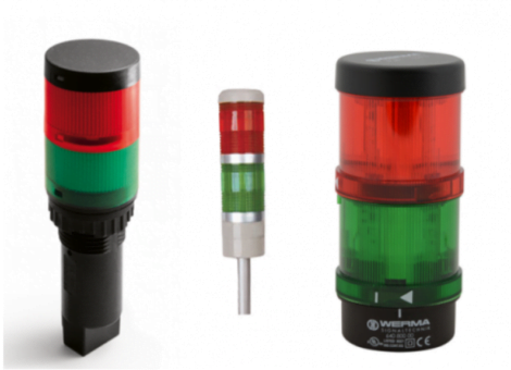 Maplejet adds optional 'Low Ink' Indicator  External Beacon for Hx Nitro