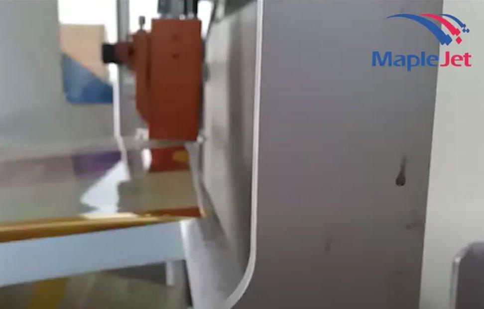 Printing with MapleJet industrial TIJ printer