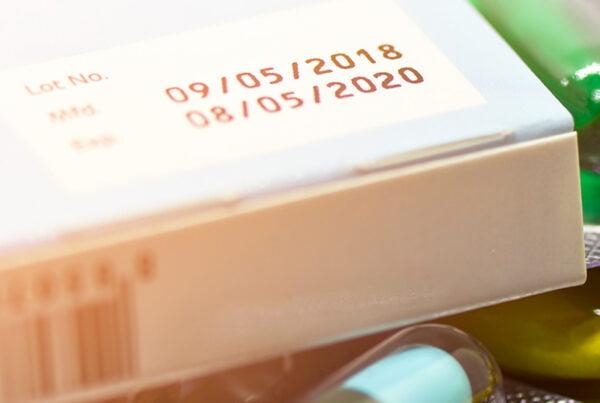 printing on coated medicine box