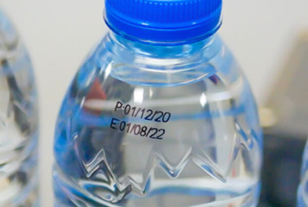 Printing on Plastic PET Bottle