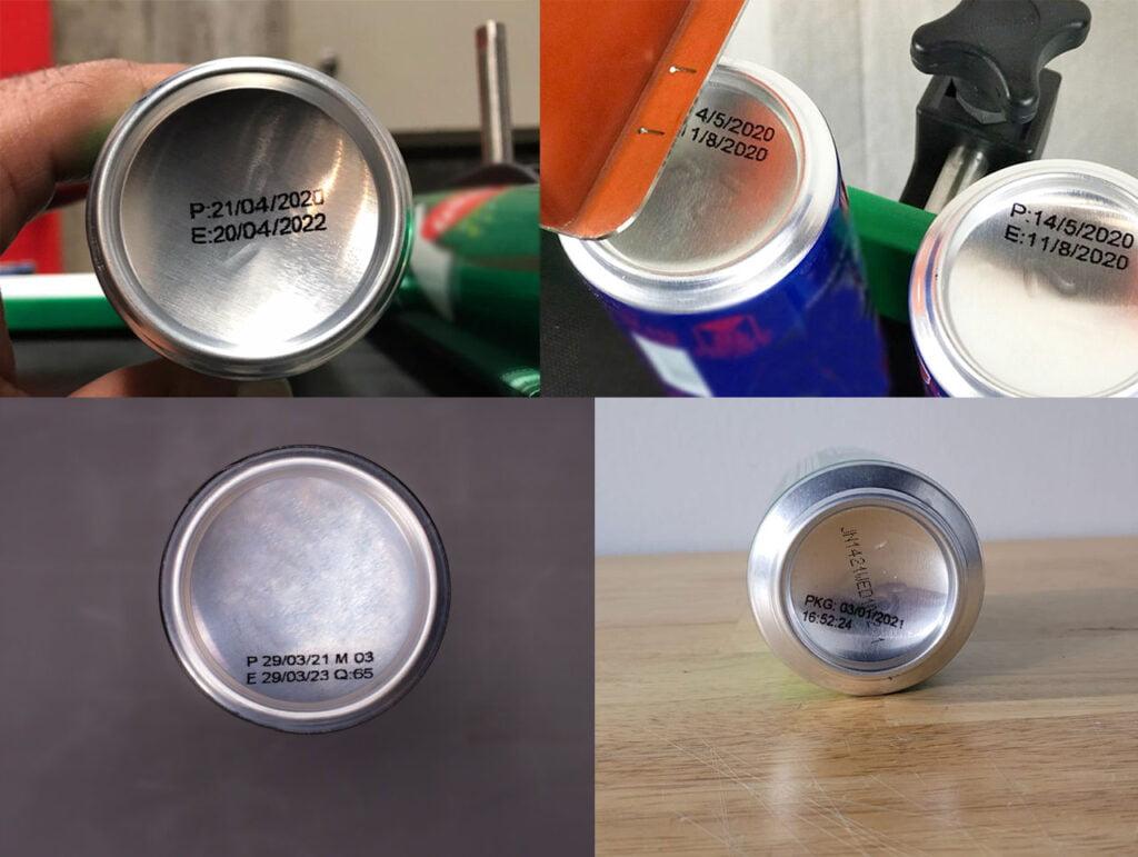 Hx Nitro TIJ print on aluminum cans